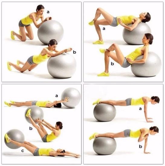 упражнения-с-фитболом